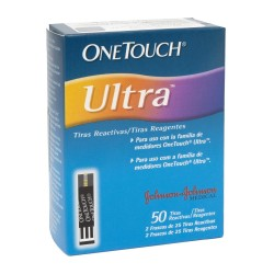Tiras Reactivas Glucosa One Touch Ultra