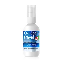 Solución Antiseptica Oxi Zäg Travel 60 ml