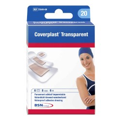 Banditas Coverplast Transparente