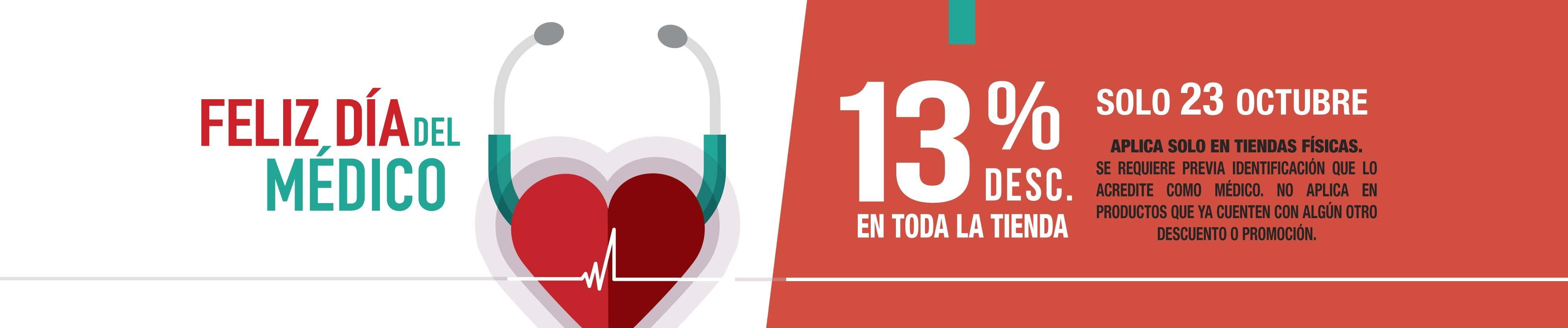 23 de Octubre Promoción Día del Médico