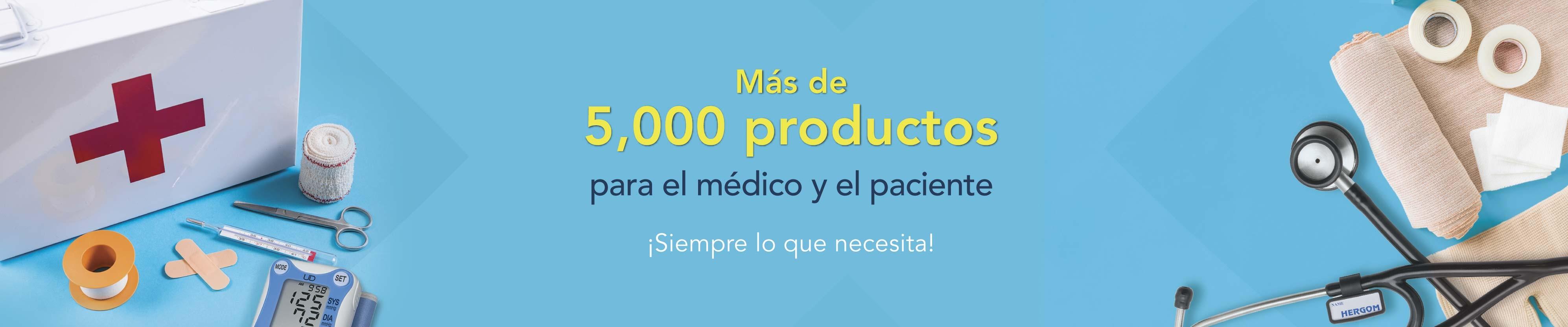Mas de 5000 productos